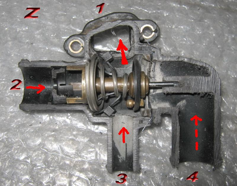 Термостат на калину схема